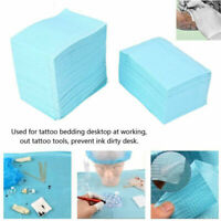 125Pcs Disposable Tattoo Clean Pad Waterproof  Tablecloths Mat Double LayerSheet