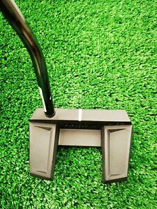 NEW Cleveland Frontline Elvade single bend putter 34  inch, straight  stroke.