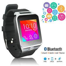 2-in-1 Wireless Bluetooth Smart Watch & Phone w/ Camera Pedometer Sleep Tracker