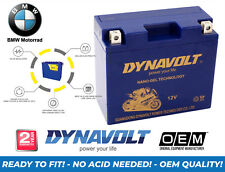 NEW BMW F 800 GS 2012 DYNAVOLT MOTORCYCLE (YTX14BS UPGRADE) GEL NANO BATTERY
