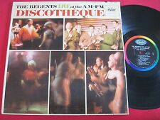 EARLY ROCK LP - THE REGENTS LIVE AT THE A.M.-P.M. DISCOTHEQUE - CAPITOL KAO 2153