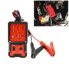 DC 12V Electric Automotive Relay Tester For Cars Auto Battery Checker Tool Red