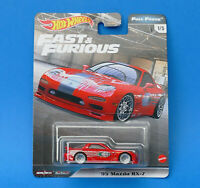 Hot Wheels PREMIER - FAST & FURIOUS Full Force Series 1/5 - 95 MAZDA RX-7 - New