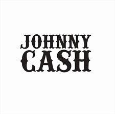Johnny Cash Music Man in Black Vinyl Die Cut Car Decal Sticker-FREE SHIPPING