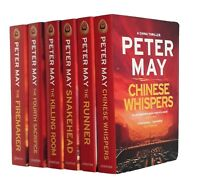 Peter May China Series 6 Book Crime Thriller Detective Book 1-6 Yan Campbell New