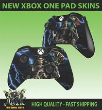 Mando para Xbox One Pad Pegatina Grim Reaper Ángel Oscuro Cráneo Gótico Skins X2