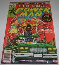 POWER MAN #37 (Marvel Comics 1976) LUKE CAGE! Great cover! (FN+) RARE!