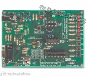 KIT PROGRAMMATORE DEMOBOARD PER MICROCONTROLLORI MICROCHIP PIC con MEMORIA FLASH