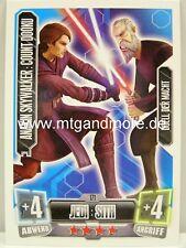 Force Attax Serie 2 Anakin Skywalker : Count Dooku #171