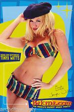 POSTER : TONYA WATTS - SEXY BIKINI.COM MODEL - FREE SHIPPING !    #3599    LW3 D