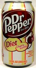 MT UNOPEN American 12oz Limited Edition Diet Dr. Pepper Cherry Vanilla USA 2006