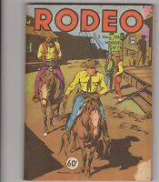 RODEO n°79 - 5 mars 1958. Etat moyen.  Miki le Ranger.