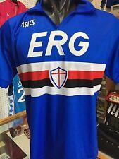 Rara Maglia SAMPDORIA VIALLI 9 1990-91 ERG - ASICS L camiseta jersey trikot