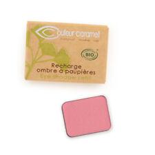 Recharge Fard à Paupières n°150 Eclat de Rose mate Bio - 1,3 g - Couleur Caramel
