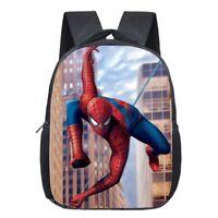 Spiderman Backpack Children Super Hero Spider Man School Backpack Boys Hero Bag