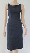 CUE Black Fitted Sleeveless Fishtail Corporate Work Dress sz 6 XXS