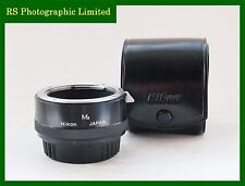 Nikon M2 Macro Tubo Para F Sistema Con Estuche. Stock no. U7418