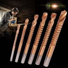 6pcstitanium HSS Drill Saw Bit Set Slot Cutting Wood Metal 3-8mm Hole Cutting SP