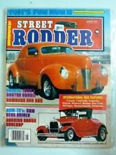 Street Rodder Aug 1979 - Tom's Fun Run 2 - Boston Boogie- Running Board Coverup