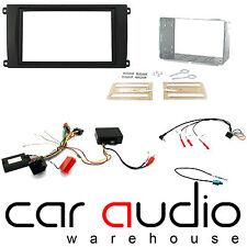Porsche Cayenne 02-07 Car Stereo D/Din Fascia & Steering Wheel Interface CTKPO02