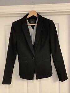 Women's Black Next Tailoring Blazer/Suit Jacket - Size 6R