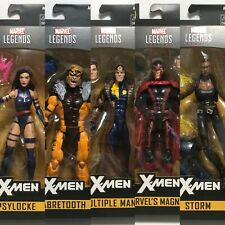 Marvel Legends Apocalypse Wave Psylocke Sabretooth Multiple Man Magneto Storm