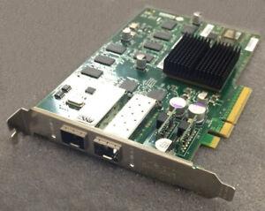 Chelsio Dual Port 10Gb 10GBps PCI-E HBA FC Fiber Channel 110-1082 110-1082-31