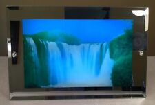 """🔴 Vintage Waterfall Mirror Light with Water & Bird Sounds (approx 11�x17"""")"""