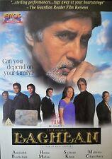 BAGHBAN - EROS BOLLYWOOD DVD - Amitabh Bachchan, Hema Malini, Salman Khan.