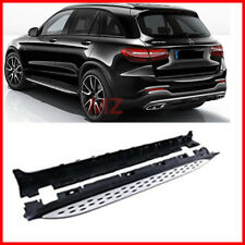 For 16-18 Mercedes Benz GLC X253 Running Boards Pair Side Step OE Style Nerf Bar