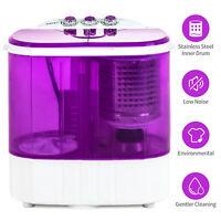 10 LBS Portable Mini Washing Machine Compact Twin Tub Washer Spinning Dryer