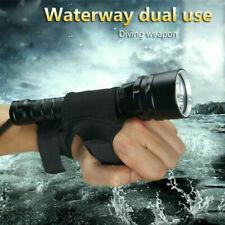 Unterwasser 15000Lm 5x XM-T6 LED Taschenlampe Tauchlampe bis 100m + Stofftasche