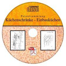 Küchenschrank Einbauküche selber bauen, 120 deutsche Patente als PDF