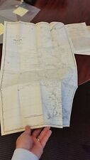 """A Plan for the Defense of the Western Frontier""""  Large Scarce Map & report. 1838"""