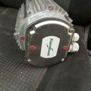 Flakt Woods Motor CT534071 3 Phase CI.F IP55 380-420 V 50 Hz 880 RPM