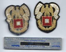 METALLIC THREAD US ARMY PATCH SIGNAL CORPS