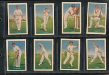Donald Bradman Set Cricket Trading Cards