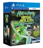 Rick & Morty Virtual Rick-ality Collectors Edition Game Sony PS4 Playstation VR