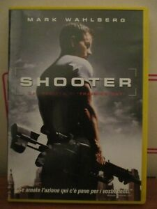 dvd shooter di Antoine Fuqua con Mark Wahlberg