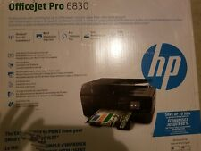 New Hp Officejet Pro 6830 Wireless All-In-One Printer Scanner Copier Fax