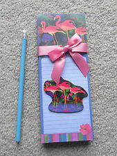 Magnetic Note Pad Gift Set Flamingo Paradise - NEW