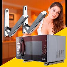 2pcs Adjustable Stainless Steel Microwave Bracket Oven Shelf Holder Angle Frame