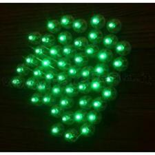50 LED LUMINOSI  A LUCE VERDE PER PALLONE - PALLONCINO - BALLOON