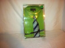 Alexander Julian Colours Green Dress Shirt & Tie SIZE L 16-16 1/2 Perfect Match