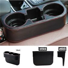 Leather Seat Seam Wedge Drink Cup Holder Travel Drink Mount Stand Storage Car