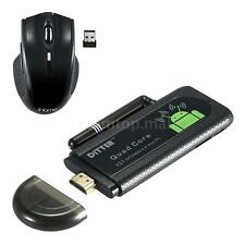 Smart Android 4.4 Quad Core Mini PC HD TV Dongle Stick H.265 WiFi HDMI P2P4
