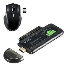 Smart Android 4.4 Quad Core Mini PC HD TV Dongle Stick H.265 WiFi HDMI P2P4