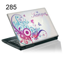 TaylorHe Calcomanía Vinilo Piel Etiqueta Engomada de la portátil personalizada con tu nombre P285