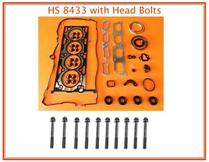 FITS 13-17 CHEVY CADILLAC CTS CT6 ATS 2.0 TURBO HEAD GASKET SET + HEAD BOLTS