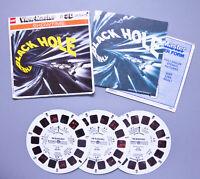 Vintage 1979 GAF View-Master | Showtime THE BLACK HOLE 3-Reel Set | Free S&H !